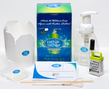 Rather Lather Soap Kits | Eco-friendly